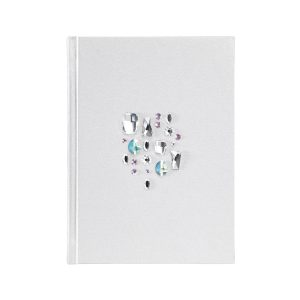 Caderno para dura swarovski